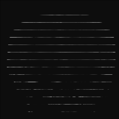 Figure 5. Simulated set of very high-resolution 2D lines.